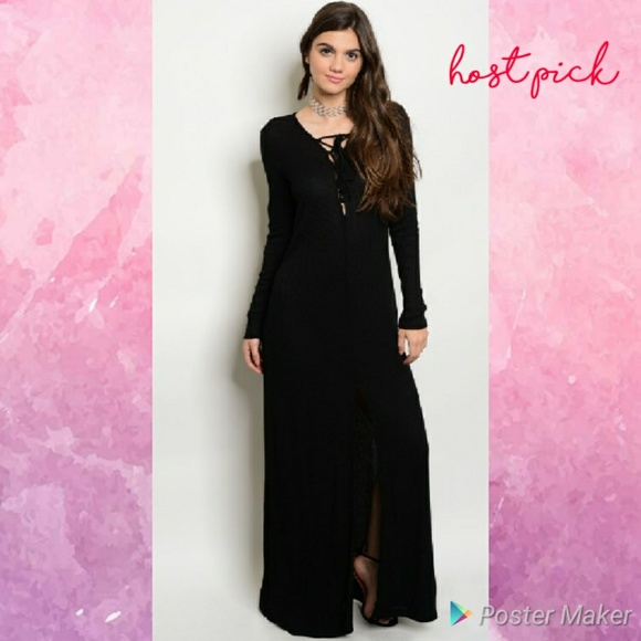 6beb8cd3e1 Last One Size Small Long Sleeve Comfy Maxi Dress